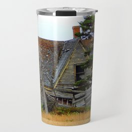 Abandoned Collapsing Homestead Travel Mug
