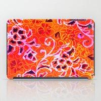 camo iPad Cases featuring Garden Camo by Vikki Salmela