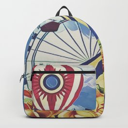 Steampunk Floral Backpack