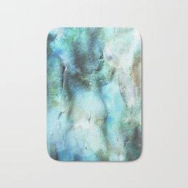 Abstract Blue Art Blue Opal And Blue Topaz Bath Mat