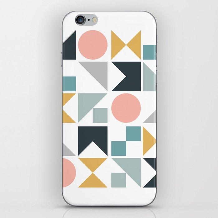 Modern Geometric 09 iPhone Skin