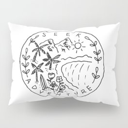 Seek Adventure Pillow Sham