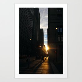 The chemistry of common Chicago Art Print