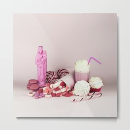 Sweet pink doom - still life Metal Print