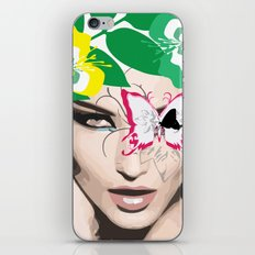 woman face 1 iPhone & iPod Skin