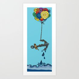 Stay Lifted Art Print