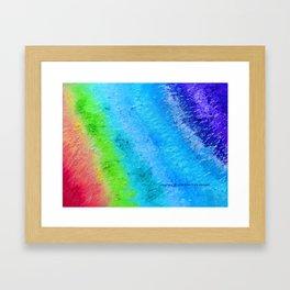 """""""Sign Painter Palette"""" Oil Painting Framed Art Print"""