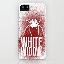 White Widow iPhone Case