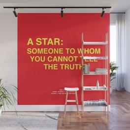 Howlin' Mad Murdock's 'A Star...' shirt Wall Mural