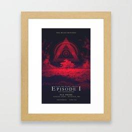 FTB Trials - Episode 1 Framed Art Print