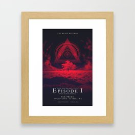 FTB Trials - Episode 1 Framed Art Print