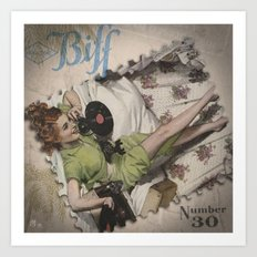 Choraltone Biff Number 30 Art Print