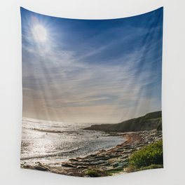 Sunstar at Ano Nuevo State Reserve California Wall Tapestry