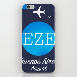 EZE Buenos Aires airport iPhone Skin
