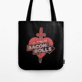 Bacon Rolls Tote Bag