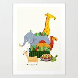 Pet Sounds / Zoo Fun Art Print