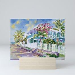 Island Inn Mini Art Print