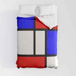 The fake Mondrian Comforters