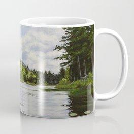 Secret Adirondack Pond Coffee Mug