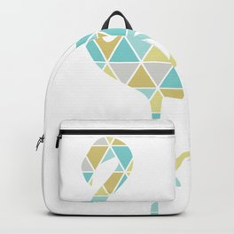 Flamingo Triangulation Backpack