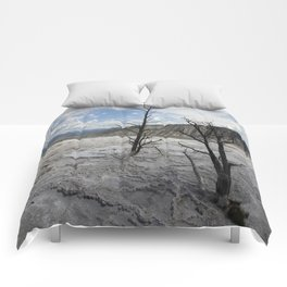 Mammoth Hot Spring  Terrace Comforters
