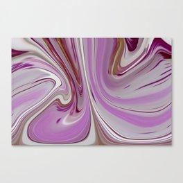Pink Waves Canvas Print
