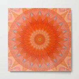 Mandala good mood Version 2 Metal Print
