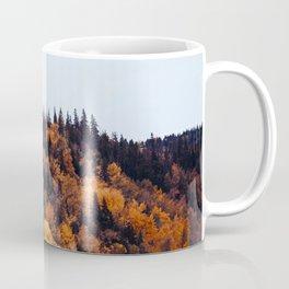 Beautiful Autumn Forest Orange & Brown Leaves Coffee Mug