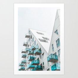 Isbjerget Aarhus |  Denmark #architecture Art Print