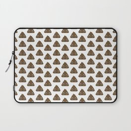 Poo Pattern Laptop Sleeve
