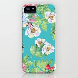 Vintage Floral Pattern No. 3 iPhone Case