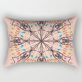 Phallic Mandala with a hint of Anus Rectangular Pillow