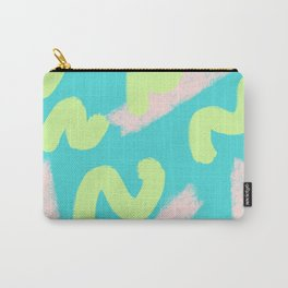 Green & Pink Wiggles Carry-All Pouch