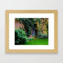 Lewis Carroll's Garden Framed Art Print