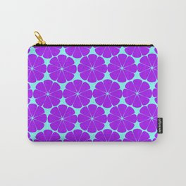 teal and violet Carry-All Pouch