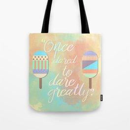 Morgan Matson - Dare Greatly Tote Bag