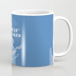 The Great Lakes - Unsalted & Shark Free (Inverse) Coffee Mug