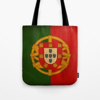 portugal Tote Bags featuring Portugal by NicoWriter