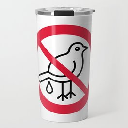 Birds Sign Logo 1 Travel Mug
