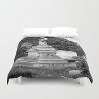 grace Duvet Covers featuring Grace by Nevermind the Camera