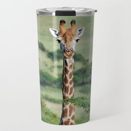 Giraffe Standing tall Travel Mug