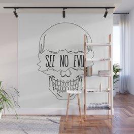 See No Evil Wall Mural