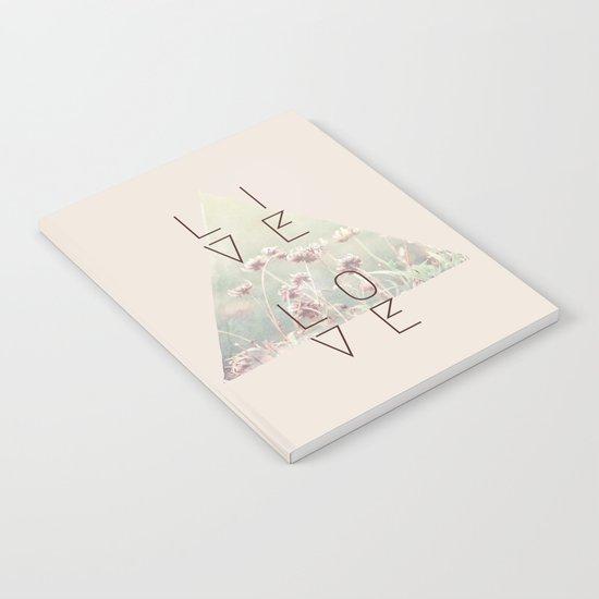 Live & Love Vintage Notebook
