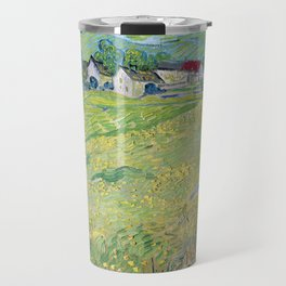 Vincent van Gogh View of Vessenots Near Auvers Travel Mug