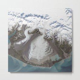 1197. Malaspina Glacier, Alaska Metal Print