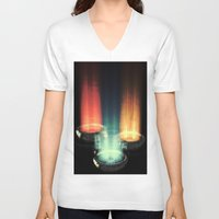 fairy tale V-neck T-shirts featuring fairy tale by Patrick R. Gschwind