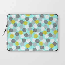 Block Printed Floral Laptop Sleeve