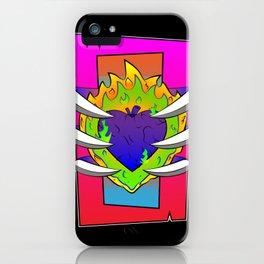 Infernal Heart of Darkness iPhone Case