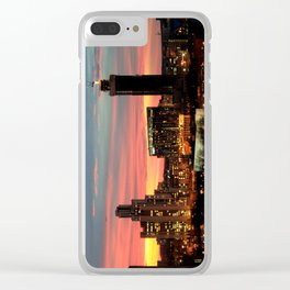 Sunset, Yekaterinburg Clear iPhone Case
