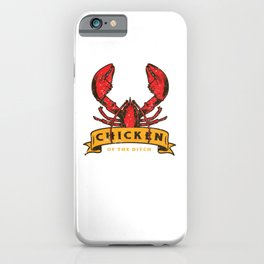 Crawfish Boil Chicken Of The Ditch Cajun Seafood Festival iPhone Case